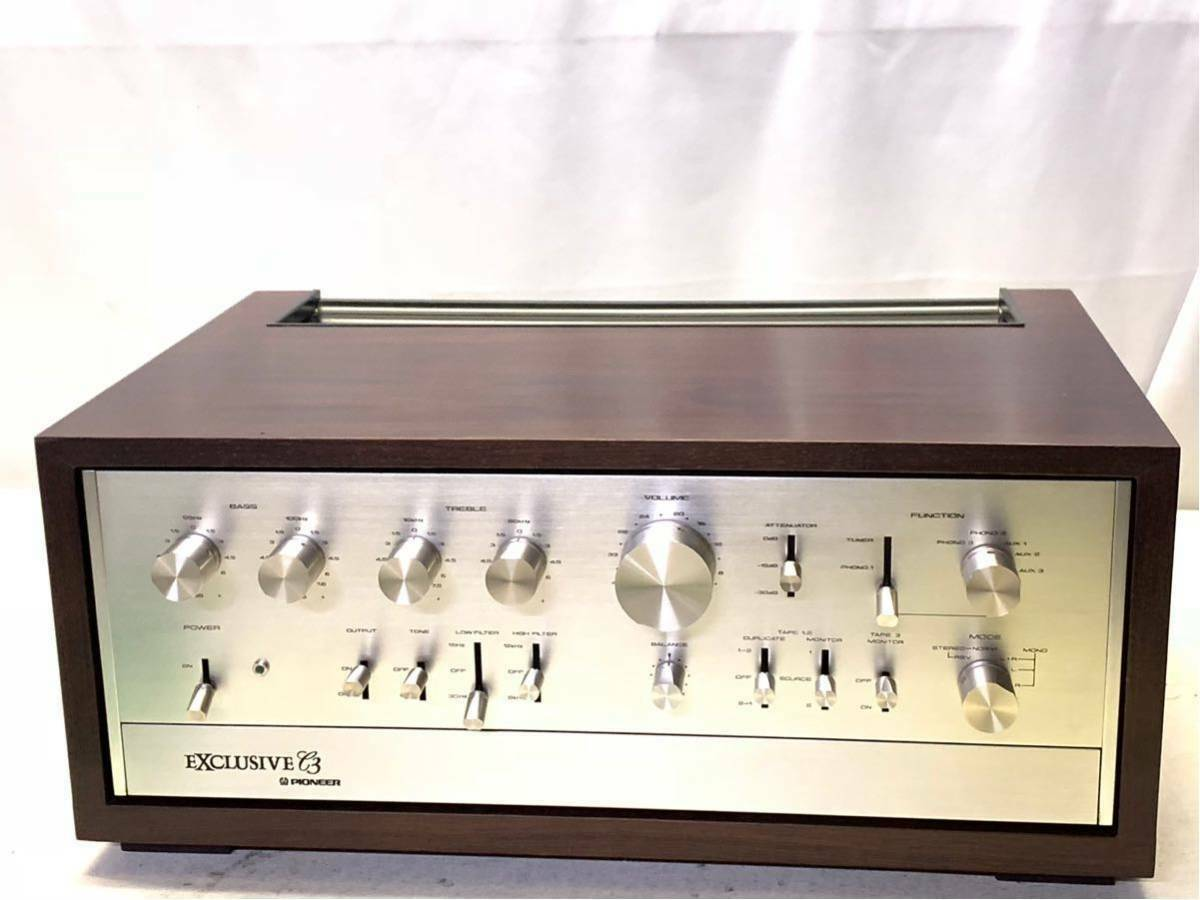 Primary image for PIONEER EXCLUSIVE C3 Vintage Preamplifier - 100 Volts