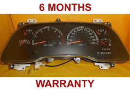 98-2001 Dodge Ram Instrument Cluster Speedometer PLASTIC CLEAR COVER ONLY - $34.60