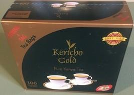 Kericho Gold Pure Kenya Tea -100 Premium Tea Bags with String & Tag - New stock - $14.90