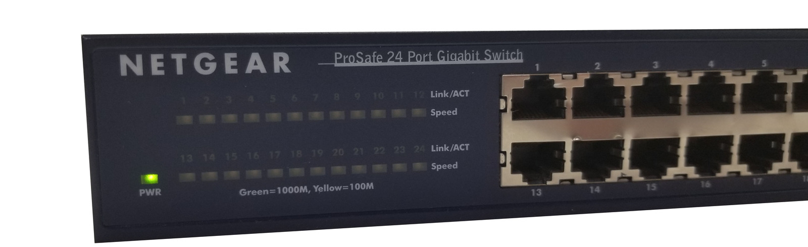 Netgear JGS524 ProSafe 24 Port Gigabit Unmanaged Switch Bin:12