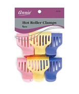 Annie Hot Roller Clamps Hair Accessories Clips Claw Pins Holder Colors #... - $5.89