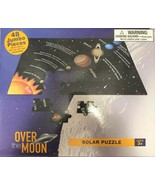 Puzzle Solar Over The Moon 48 Jumbo Pieces New 36 X 24 inches Gift Space - £7.56 GBP