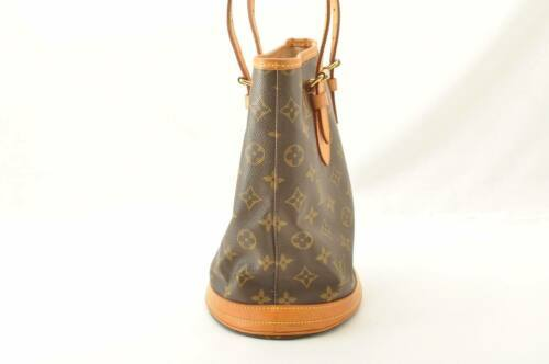 LOUIS VUITTON Monogram Bucket PM Shoulder Bag M42238 LV Auth sa2271 **Sticky image 5