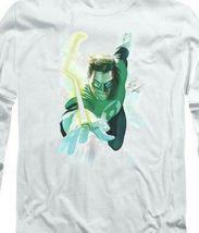 DC Comics Green Lantern superhero Retro long sleeve adult graphic t-shirt GL389 image 3