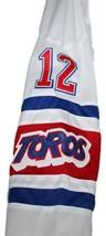 Tom Simpson #12 Toronto Toros Retro Hockey Jersey New White Any Size image 4