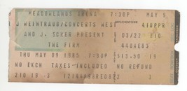 Cool THE FIRM 5/9/85 E Rutherford NJ Ticket Stub! Jimmy Page Led Zeppelin - $9.89