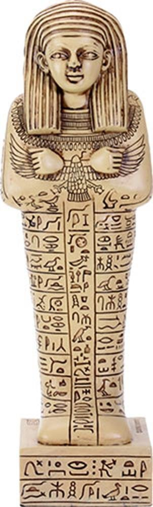 Primary image for YTC 8.75 Inch Egyptian Hieroglyphics Pattern Shabti Mummy Standing