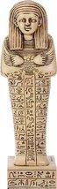 YTC 8.75 Inch Egyptian Hieroglyphics Pattern Shabti Mummy Standing - $27.48
