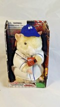 2001 Gemmy Baseball Teddy Ballgame Dancing Hamster - NEW - NIB - $19.99