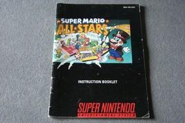 Super Nintendo SNES: Super Mario All-Stars [Instruction Book Manual ONLY] - $6.00
