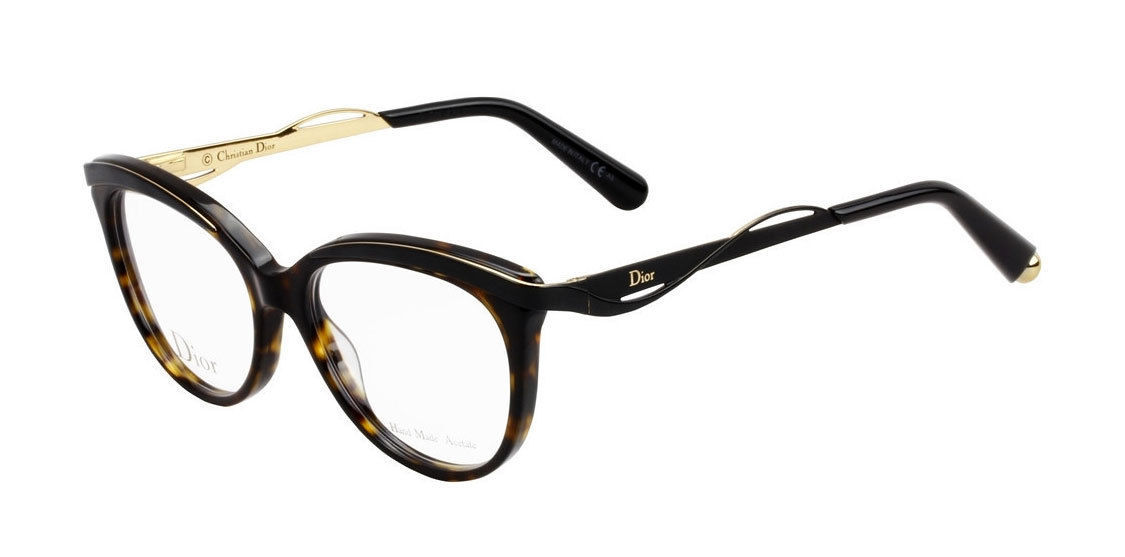 1fc222306048 Dior Eyeglasses 3279 Dark Havana Black 6NY Women s Optical Frame CD3279 -   224.95
