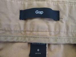 Women's camel brown khaki dress pants Size 6 by Gap  MHELW129 - $12.63