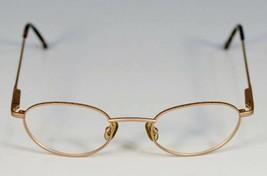 Fossil ONE FIFTY Light Copper Metal Eyeglass Frames Designer Style Rx Eyewear - $9.12