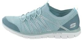 Skechers Bungee Slip-On Sneakers Glider Tuneful Blue 9.5W NEW A346595 - £48.52 GBP
