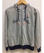 Vintage 90s Fila Biella Italia EST. 1911 Hoodies Big Logo Streetwear Spo... - $45.00