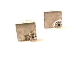 Vintage Sterling Silver Cufflinks By SWANK 3816 - $22.76