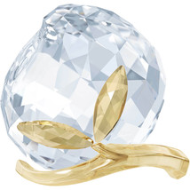 Swarovski Crystal Peach Decoration Figurine 5271317 - $107.91