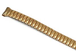 Speidel 9mm Gold Thin Stainless Steel Twist O Flex Expansion Watch Band ... - $14.84