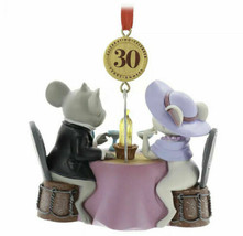 Disney 2020 The Rescuers 30th Legacy Sketchbook Christmas Ornament New - $32.66