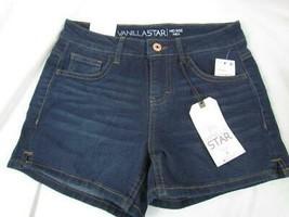 NWT Vanilla Star Black Mid Rise Mini Shorts Sz 9 Org $24.00 - $12.34