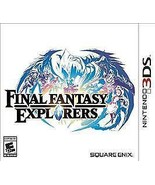 New! Final Fantasy Explorers Nintendo 3DS XL 2DS RPG Free Shipping Role ... - $24.74