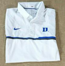 Nike Duke Blue Devils Coaches Elite Sideline Performance Polo Shirt Mens... - $27.10