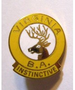 VA Elks Club Lapel Pin - Vintage Virginia Benevolent Protective Order Lo... - $19.79