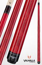 Red VA104 Valhalla Viking Two-piece Billiard Pool Cue Stick Lifetime Warranty - $65.99+