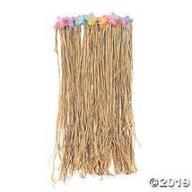 Adult's Flowered Raffia Hula Skirt - $10.36