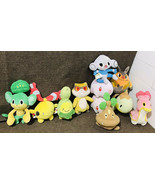 Pokemon 2007 Jakks Pacific 11 Pokemon Jakks Pacific Mixed Collectible Pl... - $99.00