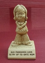 VINTAGE 1974 PAULA FIGURINE W363 Old Fashioned Love To My Up To Date MOM - $6.46