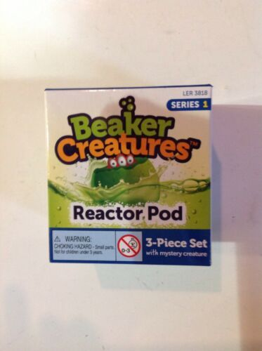 Primary image for Beaker Creatures Reactor Pod Series 1 Learning Recources 3 Piece Set