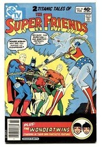 Super Friends #29 1986-Last issue-Wonder Twins-High Grade comic - $44.14