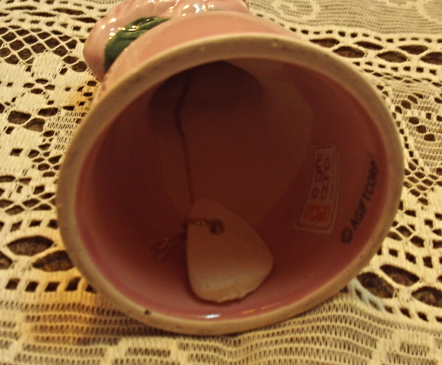 Vintage Retro Pink Flamingo Bell // Collectible Bell // Kitschy Decor