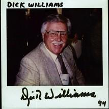 DICK WILLIAMS POLAROID PHOTO SIGNED VERY RARE - $49.95