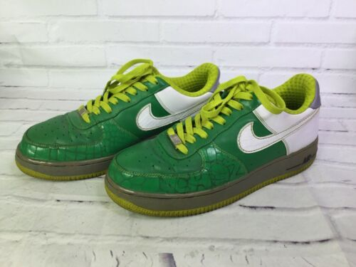 check out 718aa 8c186 Nike Air Force 315180-311 XXV Choz South Bronx Green Sneakers Shoe Mens Size  10 -  65.44