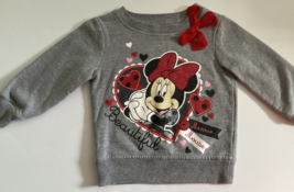 Disney, Baby Girl Clothes, SZ 3T, Minnie Mouse Sweatshirt - $7.00