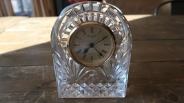 """Waterford Crystal Clock 6.5"""" needs a new battery - $98.99"""
