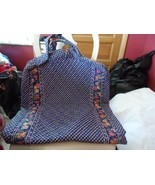 Vera Bradley retired extra long garment in Retired Royal pattern - $65.00