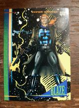 x1 1993 Skybox Marvel Universe Blaze #103 Card  - $2.99