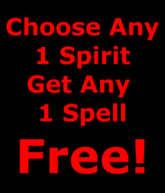 gbb Sale  Freebie Buy Any1 Spirit Get Any1 Spell Free Betweenallworlds - $0.00