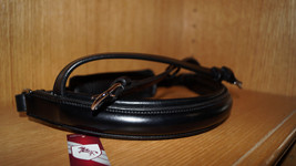 Bobby's Tack Black Full Sz Crank (NON- Flash) NOSEBAND - MonoCrown - $84.50