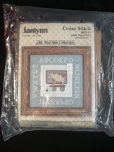 Janlynn Cross Stitch ABC Mini Collection Horse and Cow Pull Toy - $17.77