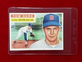 1956 Topps Set Break #256 - Tom Hurd EX-EXMINT (gray back) - $9.50