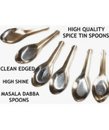 36 Spice Small Miniature Spoons for Indian Masala Dabba Spice Storage Se... - $45.00