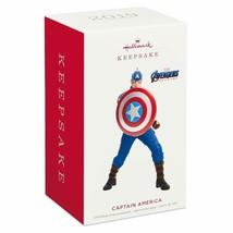 Hallmark Keepsake 2019 Avengers Captain America Limited Ornament New wit... - $32.66