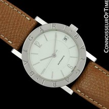 Bvlgari Bvlgari (Bulgari) Mens Automatic Ss Steel Watch, Bb 33 Sl - Mint With Wa - $1,269.10