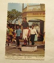 Colorul Fijiian Policeman Fiji Islands Continental Sized Postcard - $2.49