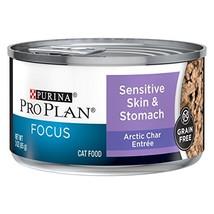Purina Pro Plan Sensitive Stomach Wet Cat Food, FOCUS Sensitive Skin & S... - $50.42