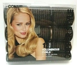 1 pk Conair Copper Style 12 Piece Voluminous Curls Self Grip Rollers - B... - $13.85
